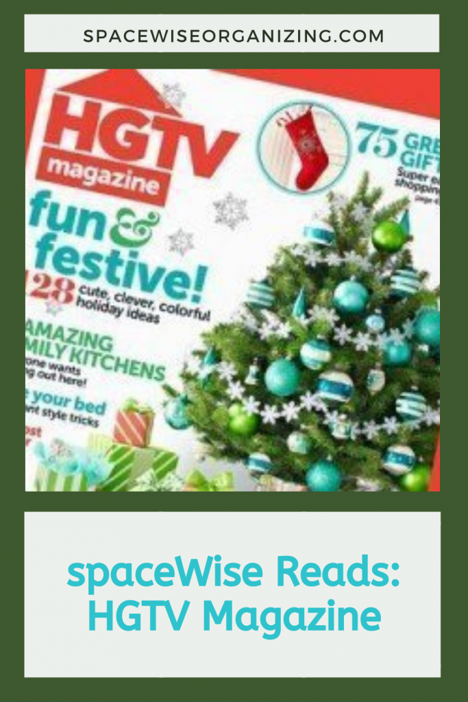 spaceWise Reads: HGTV Magazine