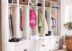 Organized Entryway - spaceWise tips