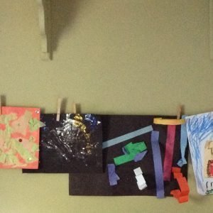 Try This: Display Kids' Art
