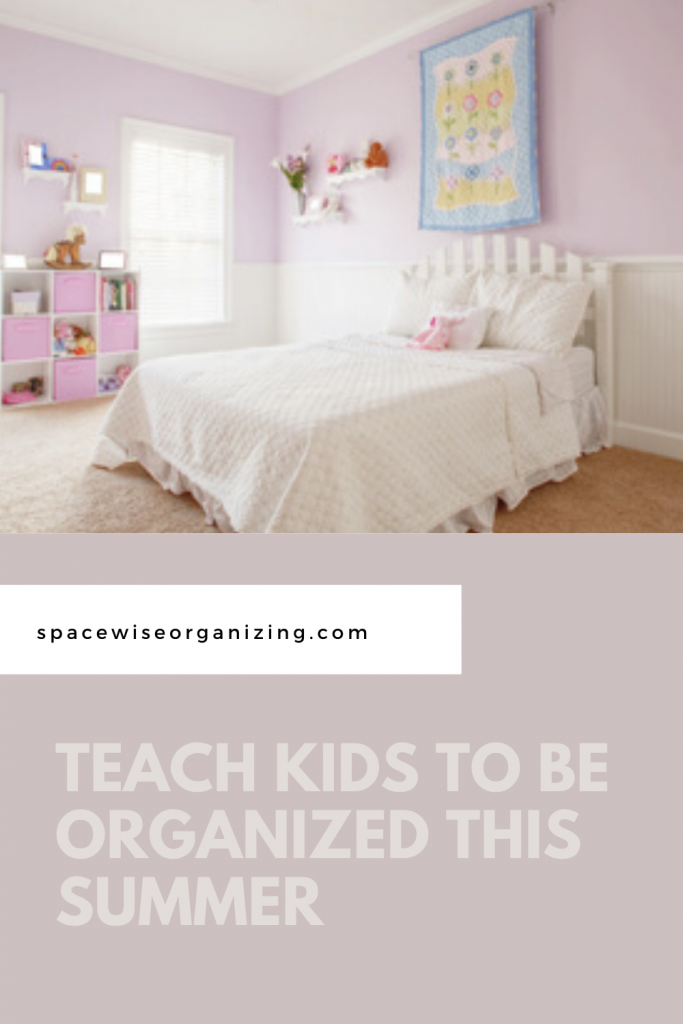 Teach Kids to Be Organized This Summer