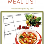 Make A Meal List