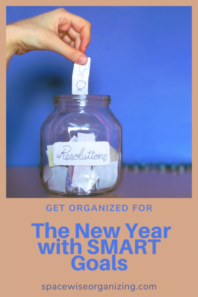 Get Organized for the New Year with SMART Goals