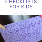 Make Back to School Less Brutal with Checklists for Kids