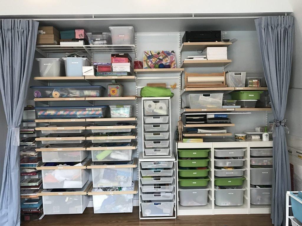 Elfa Wall Closet Spacewise Organizing