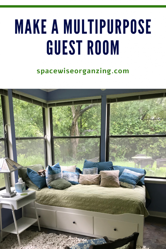 Make a Multipurpose Guest Room