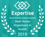 Award Best Home Organizers Austin 2019