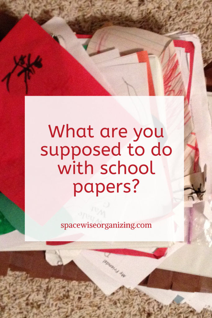 What Are You Supposed to Do with School Papers?