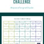 December Gratitude Challenge