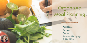 Meal Planning Workshop Graphic
